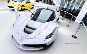 Picture Ferrari, White, 2014, LaFerrari