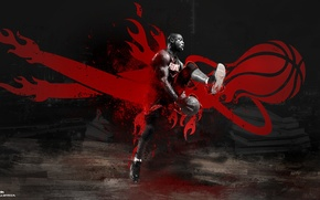 Picture Miami, basketball, Miami, basketball, nba, NBA, Heat, Hit, Miami Heat, Miami Heat, Famous Stars Dwayne …