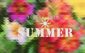 Picture summer, summer, brightness, light this summer, ignite this summer