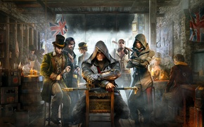 Picture London, killer, character, Syndicate, tavern, Assassin's Creed, Assassin's Creed: Syndicate, Jacob Fry, Jacob Frye