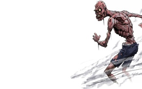 Picture zombie, pants, living dead