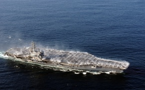 Wallpaper the ocean, Paluba, the carrier, sink