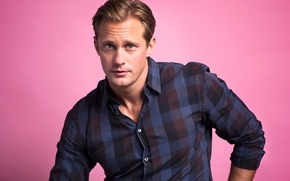 Picture background, photographer, actor, shirt, Alexander Skarsgard, Alexander Skarsgard, for the website, Jon Premosch, BuzzFeed