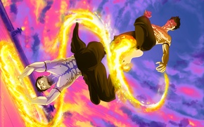 Picture Fire, Fire, Avatar, Mako, The Legend of Korra, Iroh, Iroh, Mako
