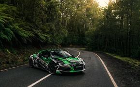 Picture Audi, Road, R8, Rmytrix
