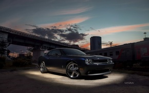 Picture machine, clouds, photographer, Dodge, auto, photography, photographer, Alex Bazilev, Alexander Bazylev, Alexander Bazilev