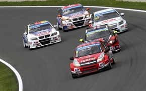 Picture background, Wallpaper, track, fight, Austria, Chevrolet, BMW, race, car, Lada, Seat, WTCC, world touring