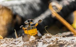 Picture freedom, robot, WALL-E, WALL-E