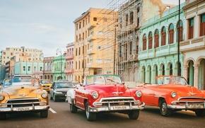 Picture retro, street, Cuba, Cuba, Havana, Havana