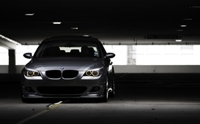Picture photo, Parking, City, wallpaper, cars, auto, photography, stop, the dark background, Wallpaper BMW, 530i, Bmw …