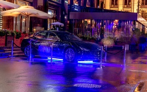 Picture Maserati, Moscow, night, Moscow