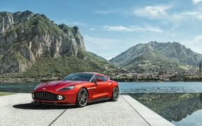Wallpaper Concept, Aston Martin, Aston Martin, Zagato, Vanquish, vankvish