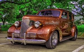 Picture hdr, style, retro, oldtimer, CIRCA 1930'S-CHEVY