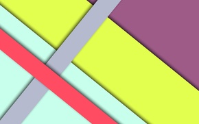 Picture line, yellow, pink, geometry, green, design, color, material