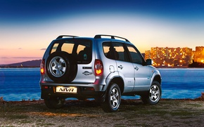 Picture SUV, Niva, Chevy, all-wheel drive