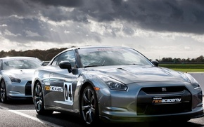 Picture R35, Nissan GTR, race academy