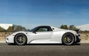 Picture Porsche, supercar, Porsche, Spyder, 918