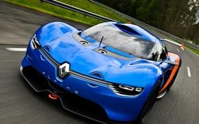 Picture auto, Concept, the concept, Renault, the front, Alpine, A110-50