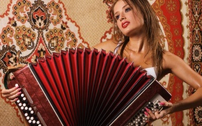 Picture music, carpet, hot, plays, Bayan
