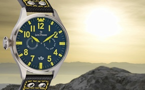 Picture yellow, watch, Jack Pierre