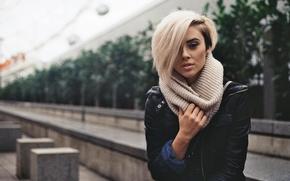 Picture look, model, blonde, Alysha Nett