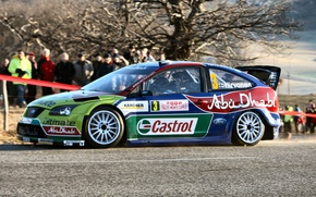 Picture Ford, Ford, Focus, Hirvonen, WRC, Rally, Rally, Focus, Monte Carlo