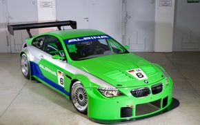 Picture auto, green, BMW