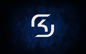 Picture logo, counter strike, sk gaming