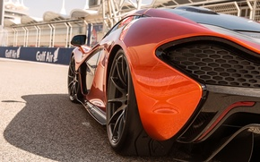 Picture orange, McLaren, supercar, McLaren