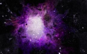 Picture photoshop, Nebula, astronomy