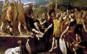 Picture picture, Giovanni Lanfranco, The Speech Of The Roman Emperor