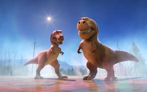 Picture cinema, Disney, sky, eyes, movie, animal, friendship, fang, leaf, film, T-Rex, konoha, vegetation, adventure, sugoi, …