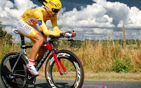 Picture bicycle, athlete, cycling
