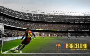 Picture wallpaper, football, Lionel Messi, Spain, Camp Nou, FC Barcelona, My As a Club, More Then …