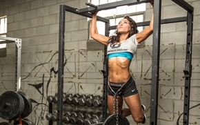 Wallpaper weight, physical fitness, back, arms, strength
