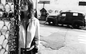 Picture the city, photoshoot, Lindsey Wixson, Twin