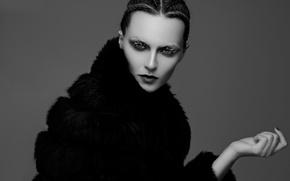 Picture portrait, makeup, Lucie, Tony Lillo