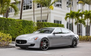 Picture Maserati, Quattroporte, Street