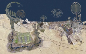 Picture Dubai, Arabskie Emirates, Palmovyi Islands