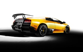 Picture yellow, Lamborghini, Lamborghini Murcielago