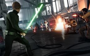 Picture game, Darth Vader, Darth Vader, Electronic Arts, Luke Skywalker, DICE, Stormtroopers, Rebels, Luke Skywalker, star …