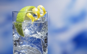 Wallpaper drink, lime, background, glass
