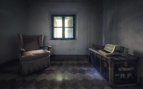 Picture room, window, Acordeon