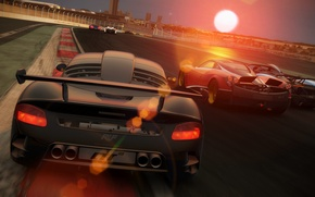 Picture car, the sun, machine, cars, project cars