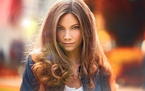 Picture look, girl, glare, sweetheart, portrait, colors, light, brown hair, beautiful, beautiful, beauty, inspiration, amazing, germany, …