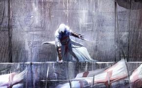 Picture rain, Altair, killer, blade, assassin's creed, spears, assassin, assassin, Desmond