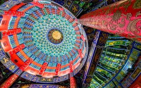 Picture pattern, paint, China, the dome
