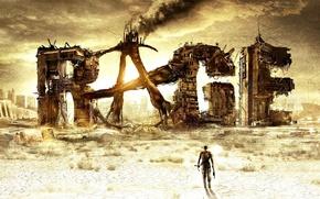 Picture future, logo, Heath, Rage, loner