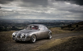 Picture photo, grey, Jaguar, car, Ian Callum, Mark 2 b