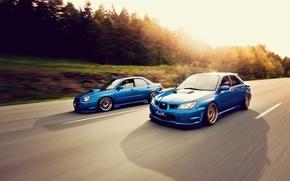 Picture tuning, in motion, subaru impreza, Subaru, sti